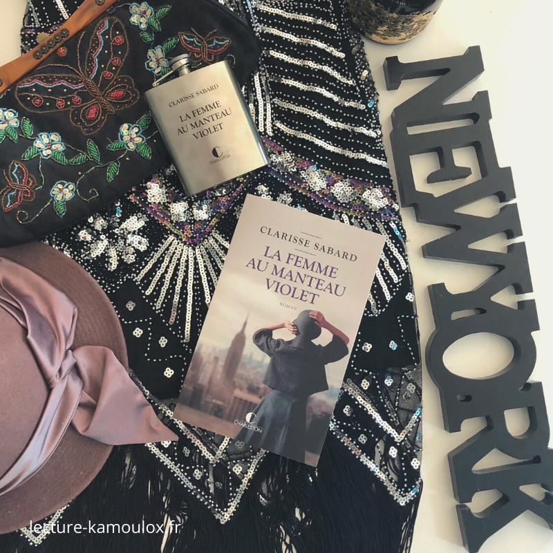La femme au manteau violet – Clarisse Sabard