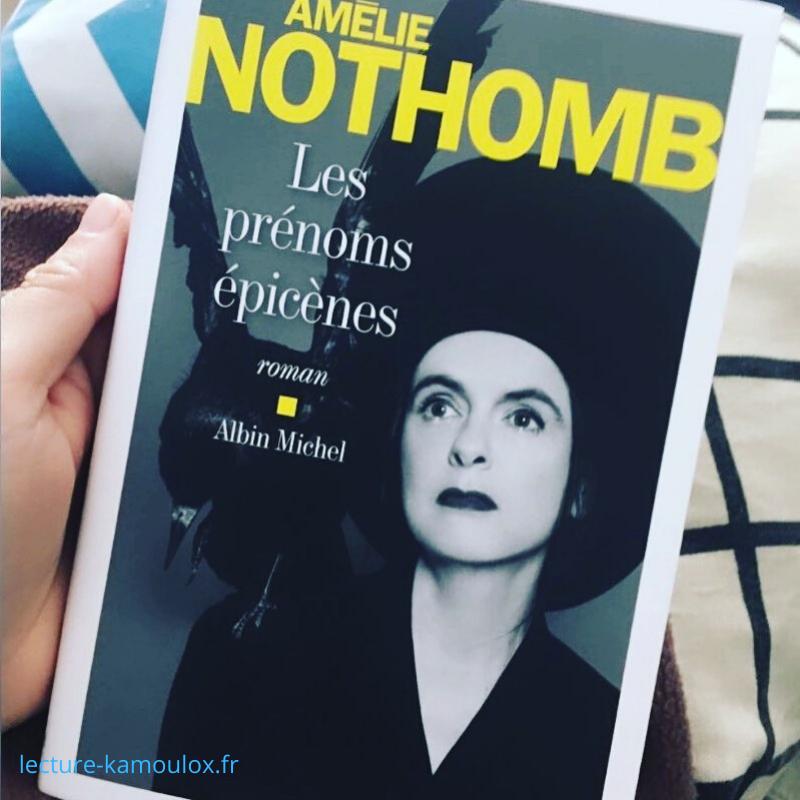 Les prénoms épicènes – Amelie Nothomb